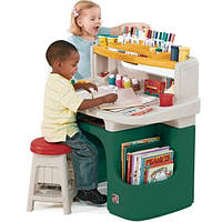 Step 2 Детский многофункциональный стол зеленый