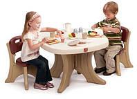 Step 2 Детский стол коричневый