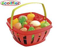ECOIFFIER Игрушечный набор корзинка с фруктами и овощами