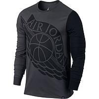 Реглан Air Jordan Stretched Wings Long-Sleeve T-Shirt 834482-010