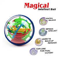 Игрушка-головоломка детская Шар-лабиринт Magical Intellect Ball 100 шагов