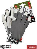 Перчатки кожаные спортивные REIS (RAW-POL) Польша RMC-TUCANA