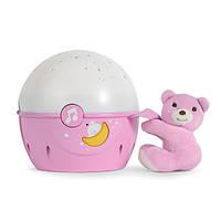 Проектор на детскую кроватку розовый Chicco