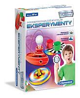 Исследовательская игра - Эксперименты Clementoni