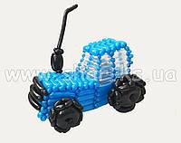 Трактор из воздушных шаров