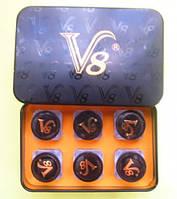 Пробники капсулы vigra V 8 вигра V 8 препарат для супер потенции 3 капсулы в бутылочке, фото 1