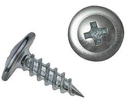 Саморіз з пресшайбою гострий 4,2Х19 (1000 шт)