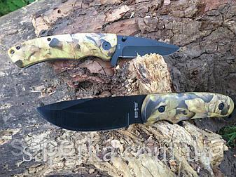 Набор ножей Grandway 24081 в чехле для рыбалки и охоты, фото 2