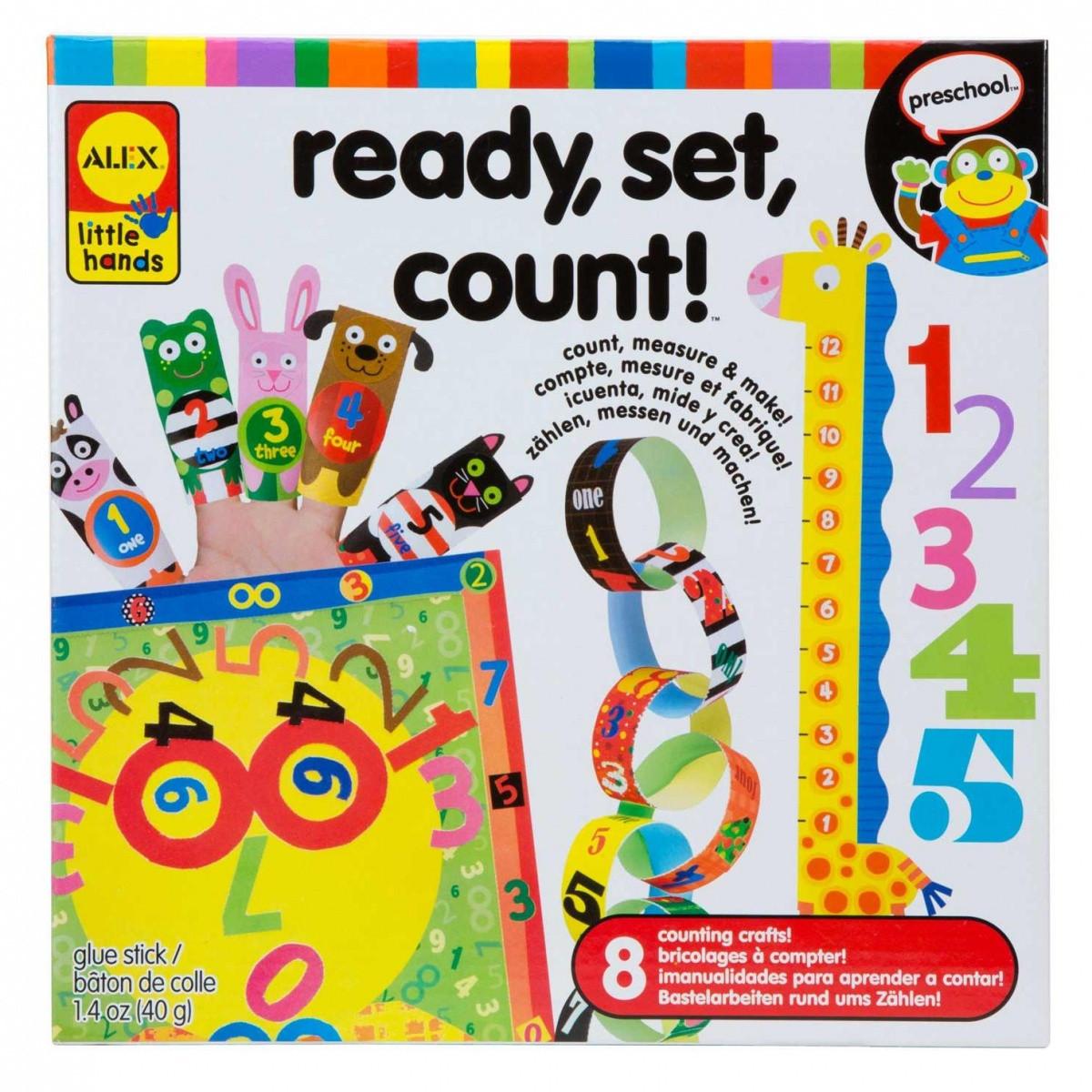 Творческий набор Ready, Set, Count Алекс