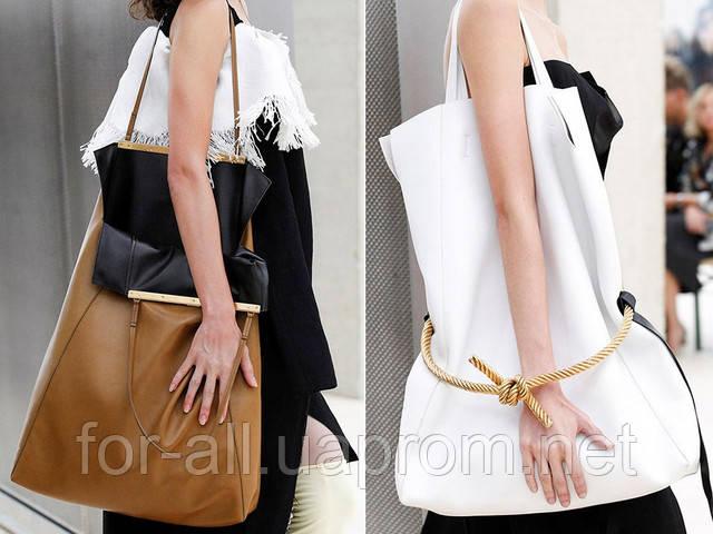 Модная женская сумка-гигант