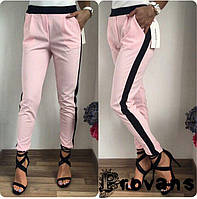 Женские брюки с полоской
