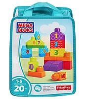 Конструктор Mega Bloks First Builders «Учимся считать», CNH08