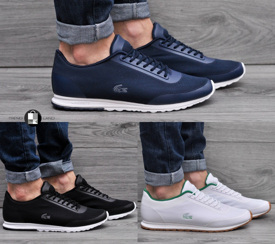 351b3f72 Мужские кроссовки Lacoste LL99 3 цвета в наличии (Реплика AAA+) -  Интернет-магазин