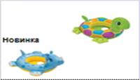 Плотик-сидение детский IX 100х80 см 2 мотива
