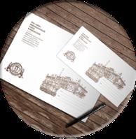 Печать фирменных конвертов Е65, С6, С5, С4