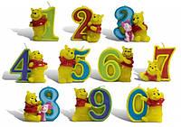 Свечи  цифры  (в торт)  Winni Pooh №1