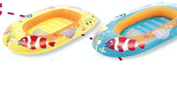 Лодка надувная детская Bestway 112х71 см Рибки