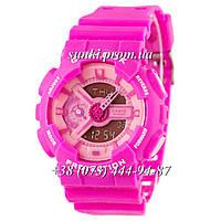 Неубиваемые спортивные наручные часы Casio G-shock GA-110 Pink (розовые)