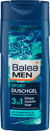 Гель для душа мужской 3в1 Balea Sport 300 ml