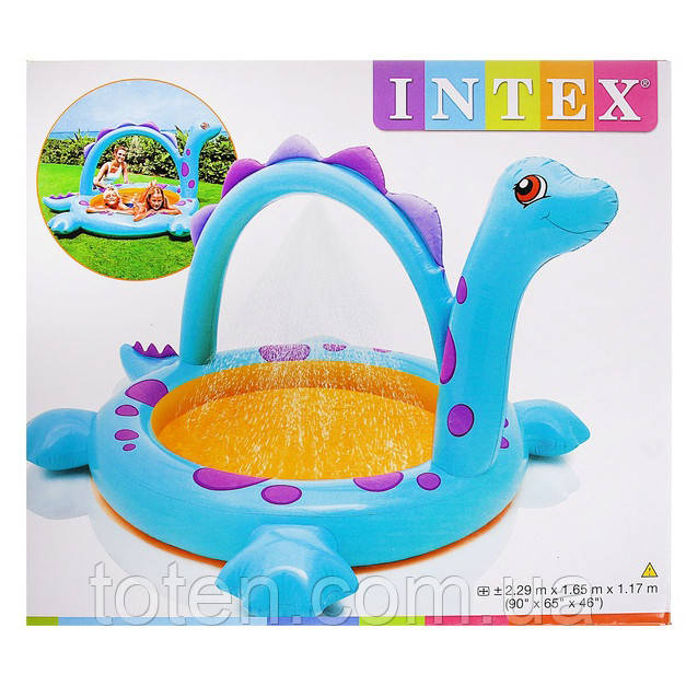 "Дитячий надувний басейн Intex 57437 ""Динозаврик"""