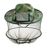 Антимоскитаная шляпа от насекомых хаки