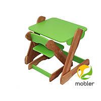 Столик и стульчик зеленый Mobler