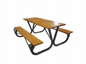 Садовый стол с лавками (Rud TM)