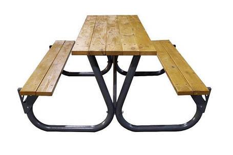 Садовый стол с лавками (Rud TM), фото 2