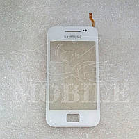 Сенсор Samsung S5830 Galaxy Ace (GH59-12013A) white Orig