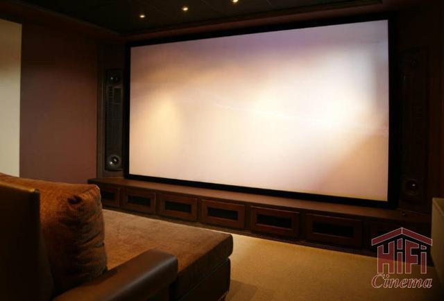 экран для домашнего кинотеатра Projecta HomeScreen Deluxe