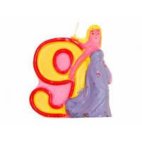 Свечи  цифры  (в торт) № HS-139 Принцессы №9