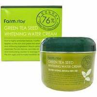Увлажняющий крем с экстрактом зеленого чая 76% FARMSTAY Green Tea Seed Whitening Water Cream 100ml