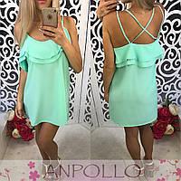 Женское шикарное легкое платье (расцветки), фото 1