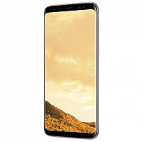 "Смартфон Samsung G955FD Galaxy S8 + 64GB Gold (SM-G955FZDDSEK) (моноблок, 6.2 ""Super AMOLED, 2960x1440 529 ppi"