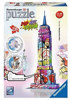 Пазл 3D Empire State Building - Pop Art Edition -Ravensburger