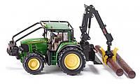 Туалет: Фермер - 1:32: Аксессуары - лесной Трактор John Deere