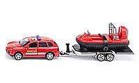 Туалет: Super - 1:50: Автомобиль + прицеп с судно на воздушной подушке