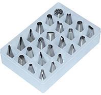 Набор кондитерских насадок для крема 24 шт., фото 1