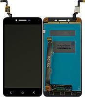 Дисплей (экран) для телефона Lenovo Vibe K5 Plus A6020 a46, Lemon 3 + Touchscreen Black