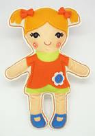 Рукоделие войлочные: Кукла przytulanka - Ала