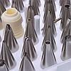 Профессиональный набор кондитерских насадок из 52х, фото 3