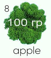 МОХ СТАБИЛИЗИРОВАННЫЙ (ЯГЕЛЬ), Apple 08, 100 ГРАММ