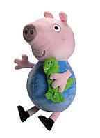 Peppa свинья Плюш: 35,5 см - Джордж с другом