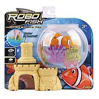 Robo-Fish: Рыба + 2 Кораллы и Замок