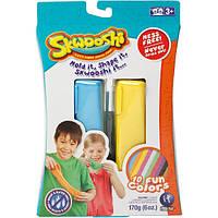 Двойная упаковка пластелина Skwooshi