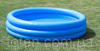 Надувной бассейн детский Intex 58426 Синий Кристалл, 147 х 33 см