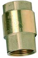 Клапан обратный резьбовой латунный Ду 15