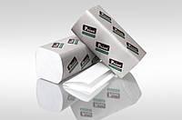 Полотенца бумажные белые1-шар 300шт Eco Point