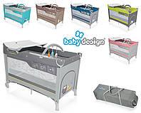Кровать-манеж Baby Design Dream 2017