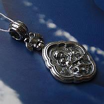 Серебряная подвеска-ладанка Святая Богородица, 8 грамм, фото 2